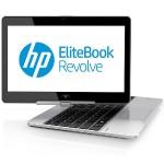 "EliteBook Revolve 810 G2 Intel Core i7-4600U Dual-Core 2.10GHz Tablet PC - 8GB RAM, 256GB SSD, 11.6"" WLED-backlit HD, Gigabit Ethernet, 802.11a/b/g/n/ac, Bluetooth, Webcam, 6-cell 44Wh Li-Polymer - Refurbished"