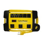 Heavy Duty Power Strip - Yellow