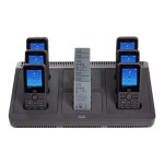 Multi-Charger - Battery charger / charging stand + AC power adapter - for IP Phone 8821; Unified Wireless IP Phone 8821, 8821-EX