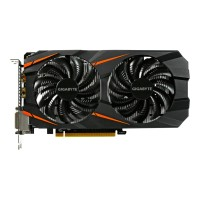 GIGA-BYTE Technology GeForce GTX 1060 WINDFORCE OC 6G - Graphics card - GF GTX 1060 - 6 GB GDDR5 - PCIe 3.0 x16 - 2 x DVI, HDMI, DisplayPort GV-N1060WF2OC-6GD
