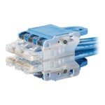 QuickNet Plug Pack Housing - Connector insertion tool - blue - 6 ports