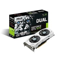 ASUS Dual OC GeForce GTX 1070 Graphics Card DUALGTX1070O8G