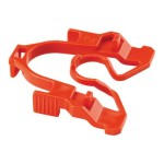 QuickNet Plug Pack Lock-in Device - Cable removal lock - red (qty per pack: 10)