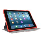 3D Protection Case for 9.7-inch iPad Pro, iPad Air 2, and iPad Air - Red