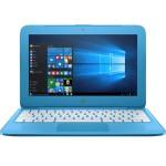 """Stream 11-y010nr Intel Celeron Dual-Core N3060 1.60GHz Laptop PC - 4GB RAM, 32GB eMMC, 11.6"""" HD SVA WLED, 802.11ac, Bluetooth, Webcam, 2-cell Li-Polymer, Aqua Blue"""