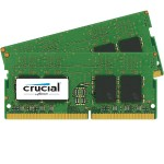 DDR4 - 8 GB: 2 x 4 GB - DIMM 288-pin - 2400 MHz / PC4-19200 - CL17 - 1.2 V - unbuffered - non-ECC