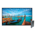 "MultiSync V552-PC2 - 55"" Class - V Series LED display - digital signage - 1080p (Full HD) 1920 x 1080 - edge-lit - with Single Board Computer OPS-APIC-PS"