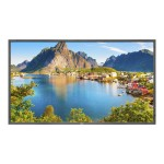 "E805-PC2 - 80"" Class - E Series LED display - 1080p (Full HD) - edge-lit - with Single Board Computer OPS-APIC-PS"