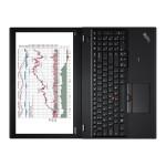 """ThinkPad P50s 20FL - Core i7 6500U / 2.5 GHz - Win 10 Pro 64-bit - 8 GB RAM - 256 GB SSD TCG Opal Encryption 2 - 15.6"""" IPS 1920 x 1080 (Full HD) - Quadro M500M / HD Graphics 520 - Wi-Fi, Bluetooth - WWAN upgradable"""