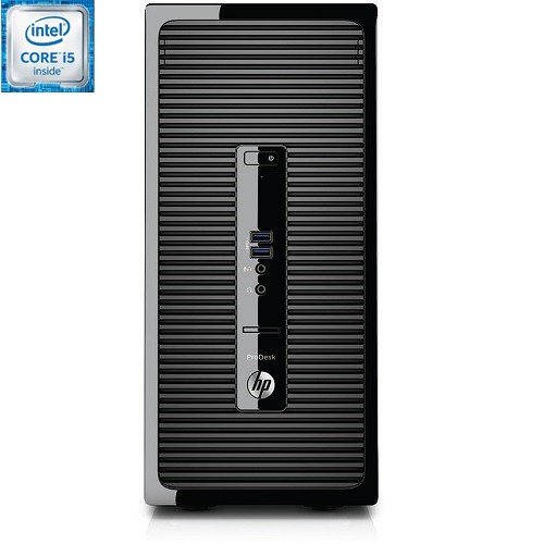 Smart Buy ProDesk 400 G3 Intel Core i5-6500 Quad-Core 3.20GHz Microtower PC - 8GB RAM, 1TB HDD, Slim SuperMulti DVD, Gigabit Ethernet, 802.11ac