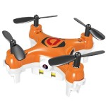 Mini Drone Mirage with Camera - Quadcopter, Orange