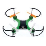 X-Drone Nano 2.0 Toy Drone - 2.40GHz Battery Powered, 0.10 Hour Run Time, 98.43ft Operating Range, RF, Outdoor, Indoor - Green