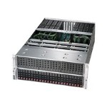 "Supermicro SuperServer 4028GR-TRT2 - Server - rack-mountable - 4U - 2-way - RAM 0 MB - SATA - hot-swap 2.5"" - no HDD - AST2400 - GigE, 10 GigE - no OS - monitor: none"