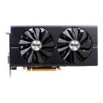 Sapphire NITRO+ RX 480 OC - Graphics card - Radeon RX 480 - 8 GB GDDR5 - PCIe 3.0 x16 - DVI, 2 x HDMI, 2 x DisplayPort - lite retail
