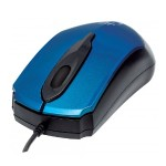 Edge - Mouse - optical - 3 buttons - wired - USB - blue
