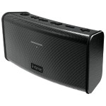 iBT33 Rechargeable Splash Proof Stereo Bluetooth Speaker - Black