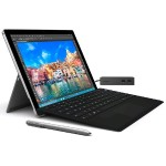 Surface Pro 4  i5, 8GB RAM, 256GB Storage + Surface Pro 4 Type Cover (black) + Surface Docking Station (Open Box Product, Limited Availability, No Back Orders)