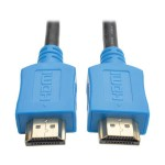 6ft High Speed HDMI Cable Digital A/V UHD HDMI 4Kx2K M/M Blue 6' - HDMI cable - HDMI (M) to HDMI (M) - 6 ft - shielded - blue - molded