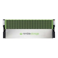 Nimble Storage All Flash AF-Series AF1000 - Flash storage array - 6 TB - SSD 6 TB - iSCSI (1 GbE), iSCSI (10 GbE) (external) - rack-mountable - 4U AF1000-2T-6T-1