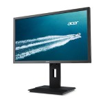 "B246HL - LED monitor - 24"" - 1920 x 1080 Full HD (1080p) - TN - 250 cd/m² - 5 ms - DVI, VGA, DisplayPort - speakers - dark gray"