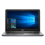 """Inspiron 15 5565 AMD FX-Series FX-9800P Quad-Core 2.70GHz Notebook PC - 16GB RAM, 1TB HDD, 15.6"""" FHD LED, Touchscreen, 802.11ac, Bluetooth 4.0, Tray load DVD Drive - Gray"""