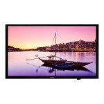 "HG43NE593SF - 43"" Class - HE593 Series - Pro:Idiom LED display - with TV tuner - hotel / hospitality - 1080p (Full HD) 1920 x 1080 - black"