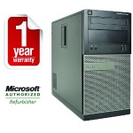 OptiPlex 390 Intel Core i3-2120 Dual-Core 3.30GHz Minitower PC - 4GB RAM, 250GB HDD, DVD+/-RW, Gigabit Ethernet - Refurbished