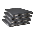 5900AF-48XG-4QSFP B-F Bundle - Switch - L3 - managed - 48 x 1 Gigabit / 10 Gigabit SFP+ + 4 x 40 Gigabit QSFP+ - rack-mountable - with 8x C15 PDU Jumper Cord (ROW) (pack of 4)