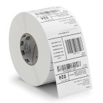 Z-Ultimate 4000T - Polyester - glossy - permanent acrylic adhesive - perforated - clear - 2 in x 1 in 1500 label(s) (1 roll(s) x 1500) labels