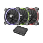 ThermalTake Riing 12 RGB Fan TT Premium Edition - Case fan - 120 mm CL-F049-PL12SW-A