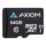 Axiom Memory Flash memory card - 64 GB - UHS Class 1 / Class10 - microSDXC UHS-I MSDXC10U164-AX
