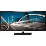 "35"" Curved Wide Full HD, 300cd/m², 2000:1, 4ms, 2xHDMI, DVI-D, VGA, 2xDisplayPort, Speakers, LCD Monitor - Black, Silver"