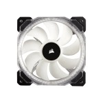 Air Series LED HD120 RGB High Performance - Case fan - 120 mm - white, blue, yellow, red, green, orange, violet (pack of 3 )