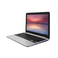 ASUS Chromebook C201PA-DS02-LG Rockchip Cortex A17 RK3288 Quad-core 1.80GHz Notebook PC - 4GB RAM, 16GB eMMC, 11.6 HD, 802.11ac, Bluetooth 4.0 90NL0913-M00880