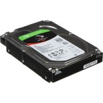 "IronWolf ST3000VN007 - Hard drive - 3 TB - internal - 3.5"" - SATA 6Gb/s - 5900 rpm - buffer: 64 MB"