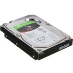 "IronWolf ST2000VN004 - Hard drive - 2 TB - internal - 3.5"" - SATA 6Gb/s - 5900 rpm - buffer: 64 MB"