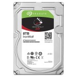 Seagate IronWolf ST8000VN0022 - Hard drive - 8 TB - SATA 6Gb/s - 7200 rpm - buffer: 256 MB ST8000VN0022