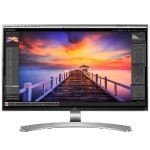 "27"" Class Ultra HD 4K Monitor - 3840x2160 Resolution, 16:9 Aspect Ratio, 5ms (GTG), 350nits, 178/178 Viewing Angle, 1000:1 Contrast Ratio, IPS Panel, Anti-Glare 3H - White"