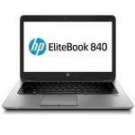 "EliteBook 840 G2 Intel Core i5-5200U Dual-Core 2.20GHz Notebook PC - 8GB RAM,180GB SSD, 14"" LED-backlit HD, Gigabit Ethernet, 802.11a/b/g/n, Bluetooth, Webcam, 3-cell 50Wh Li-ion Polymer, Silver - Refurbished"