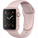 Watch Series 1, 38mm Rose Gold Aluminum Case with Pink Sand Sport Band