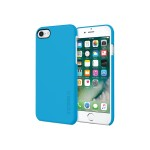 Incipio Feather - Back cover for cell phone - polycarbonate, Plextonium - cyan - for Apple iPhone 7 IPH-1467-CYN