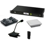 Executive Elite 2-Channel Wireless Microphone System