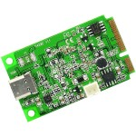 Syba Multimedia MINI PCI-EXPRESS 2.0 TO USB 3.1 TYPE-C GEN 2 CARD, ASM1142 CHIPSET SI-MPE20214