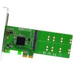 4 Port M.2 to PCI-e x2 B or B+M Key Adapter Card