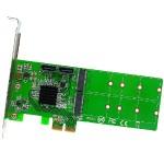 M.2 + SATA to PCI-e x2 Hardware RAID Card (B or B+M Key)