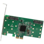4-PORT MSATA TO PCI-E X2 ADAPTER W/RAID