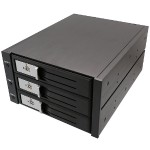 "Syba Multimedia 3.5"" 3-BAY SATA/SAS HDD INTERNAL ENCLOSURE SY-MRA35029"