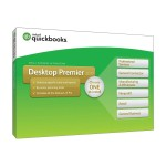 Intuit QuickBooks Desktop Premier 2017 - Box pack - 1 user - DVD - Win 428278