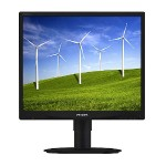 "19"" LED-Backlit LCD Monitor with SmartImage"