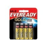Eveready Gold - Battery 8 x AA alkaline